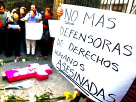Y a los defensores de Derechos Humanos, ¿quién los protege?
