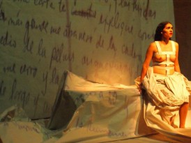 """""""Las cartas de Frida"""" en el Teatro de la Ciudad de México"""