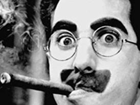 """""""He pasado una noche estupenda. Pero no ha sido ésta"""": Entrevista apócrifa a Groucho Marx"""