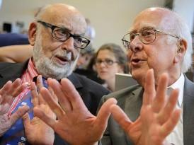 Englert y Higgs, ganadores del Premio Nobel de Física 2013