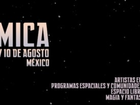Se realiza Festival Kosmica 2013 en Laboratorio Arte Alameda