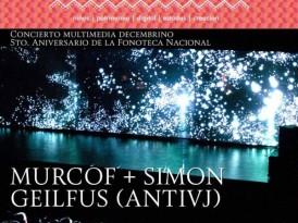Murcof y AntiVJ, presentes en Luces de Invierno