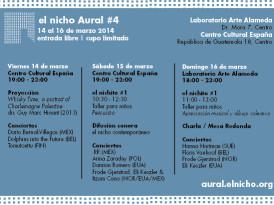Se inaugurará cuarta edición de El Nicho Aural