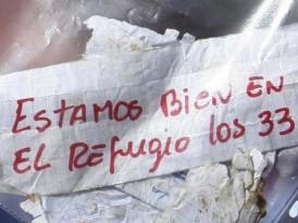 Filmarán película sobre rescate de mineros chilenos