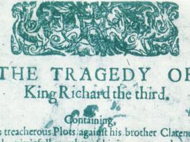 Ricardo III y un mitin cualquiera