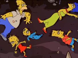 Los Simpsons ya son sólo zombies