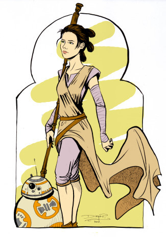 the force awakenes color