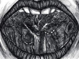 Los dientes de Caperucita, cuento de Andrés Caicedo