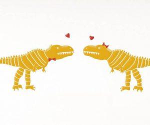 Si fueras un dinosaurio, amor mío