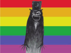 The Babadook para reina gay