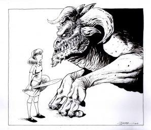 Tlaxcala y el monstruo gigantesco