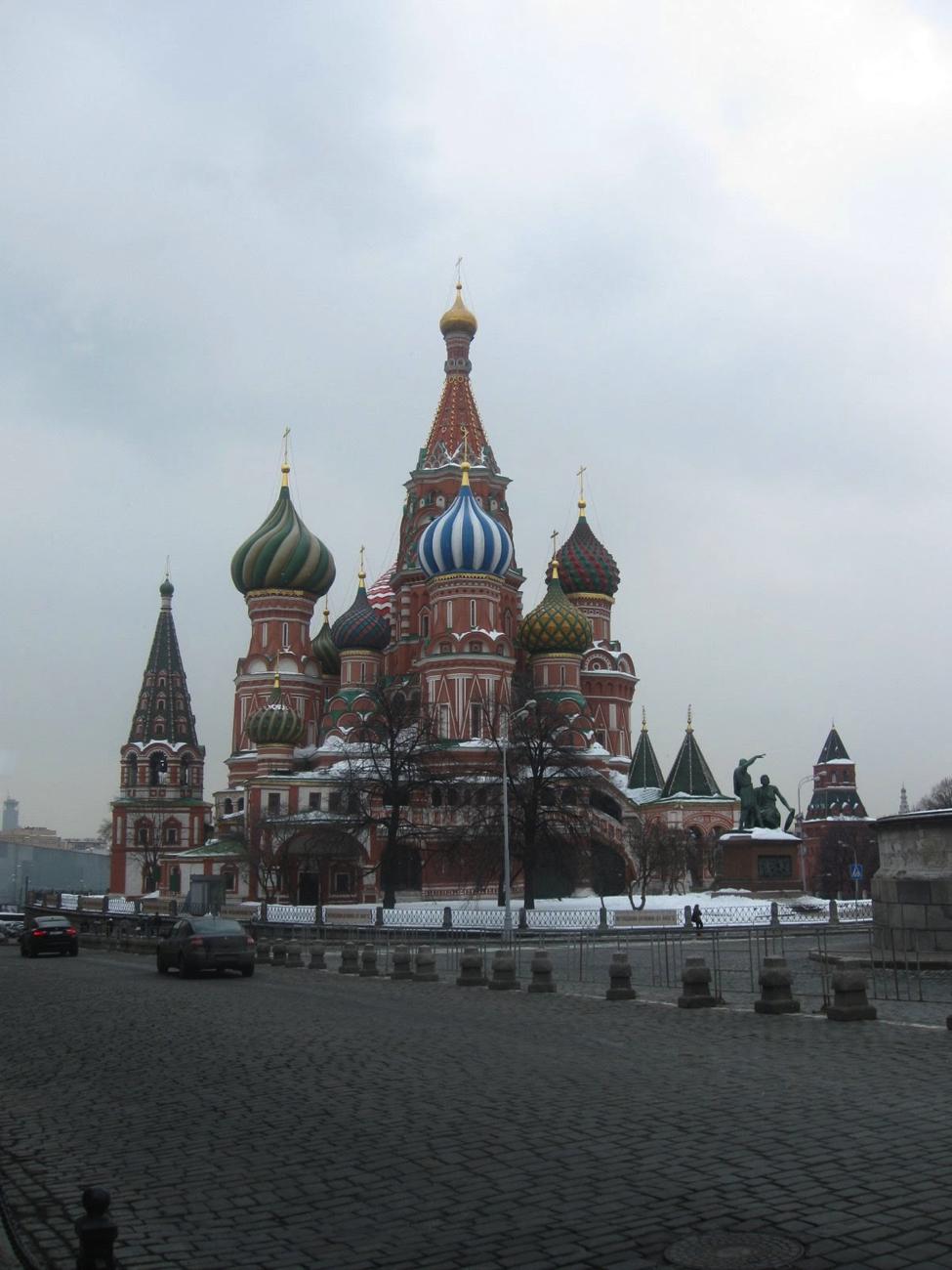 Catedral de San Basilio, en la Plaza Roja de Moscú/ Archivo del autor