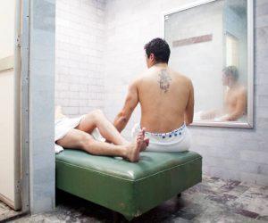 Los hombres de los baños Finisterre, crónica de una visita secreta