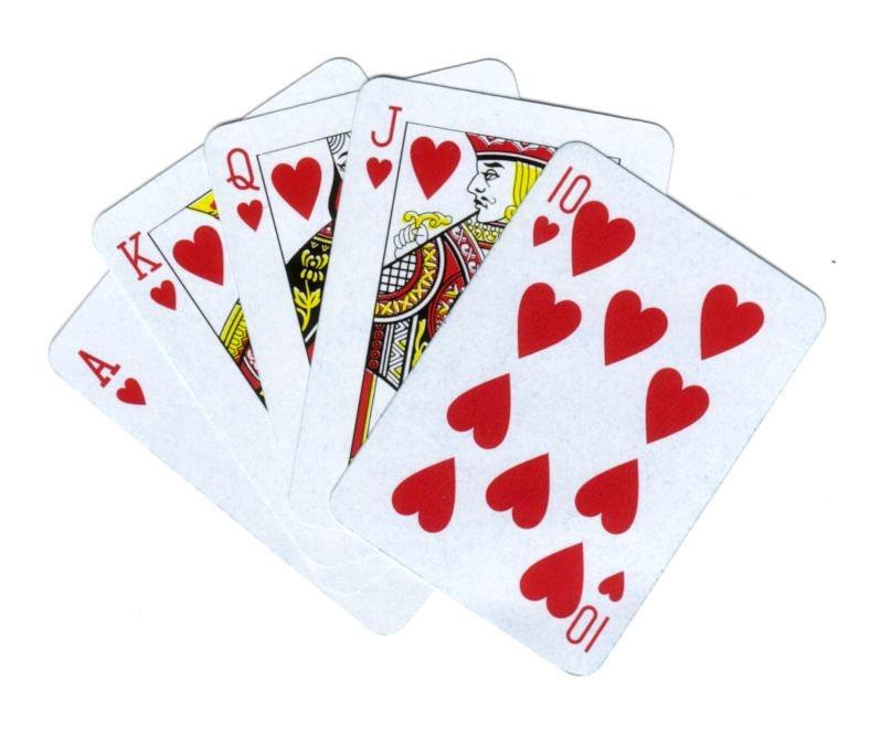 """""""Si tomamos una carta por cada uno de los palos tendremos una mano formada por un corazón, un trébol , un diamante y una espada. Y esa combinación específica sería una entre las más de 28 mil combinaciones posibles."""""""