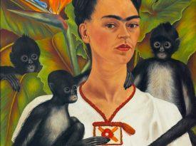 Las pinturas de Frida Kahlo: Autorretrato con monos