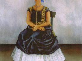 Las pinturas de Frida Kahlo: Perro Itzcuintli conmigo
