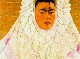 Las pinturas de Frida Kahlo: Autorretrato como Tehuana
