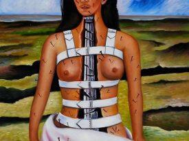 Las pinturas de Frida Kahlo: Columna Rota