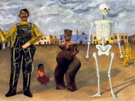 Las pinturas de Frida Kahlo: Cuatro habitantes de la Ciudad de México