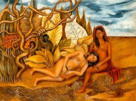 Las pinturas de Frida Kahlo: Dos desnudos