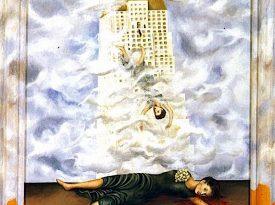 Las pinturas de Frida Kahlo: Suicidio de Dorothy Hale