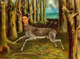 Las pinturas de Frida Kahlo: Venado herido